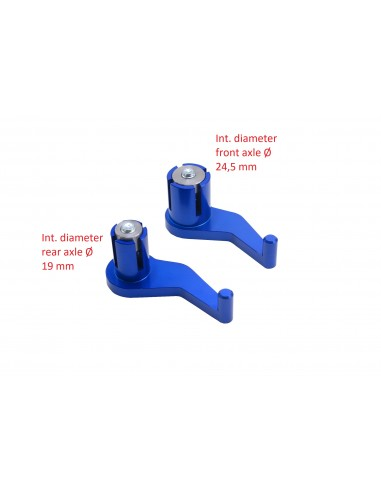 SM Project - Tire-axes de roue bleu...