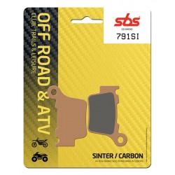Plaquettes de frein AR SBS...