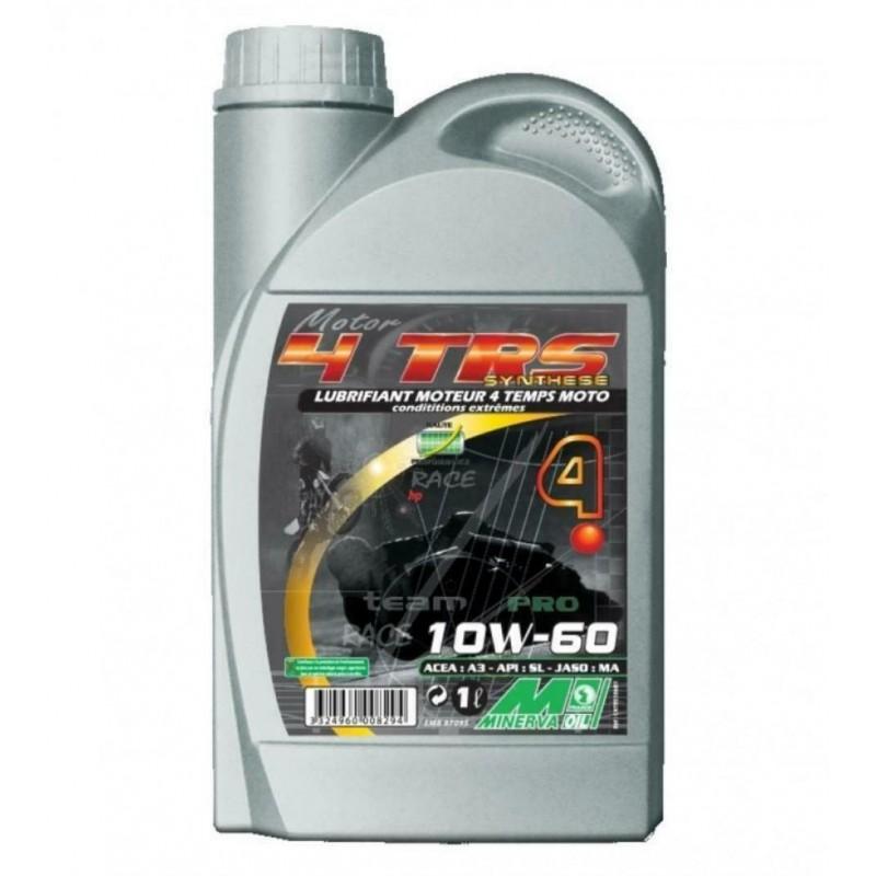 Minerva Oil 4TRS 10W60 Synthèse Bio 1L