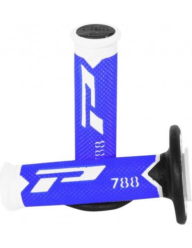 Poignées Pro Grip 788 Blanc/Bleu...