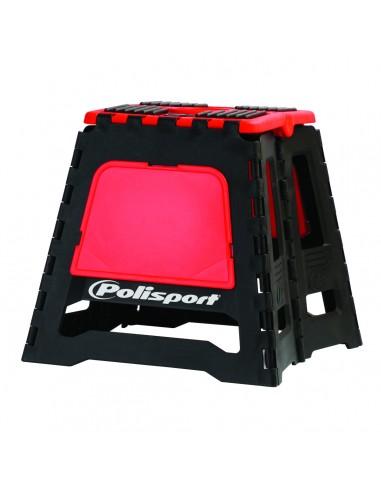 Tabouret pliable Polisport Noir/Rouge
