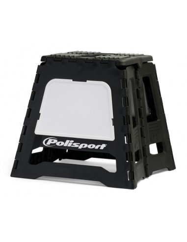 Tabouret pliable Polisport Noir/Blanc